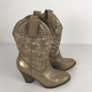 Mia Cowboy Boots Size 7.5